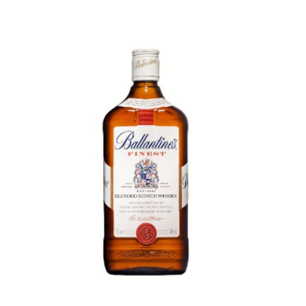 Ballantine's Whiskey Bottle